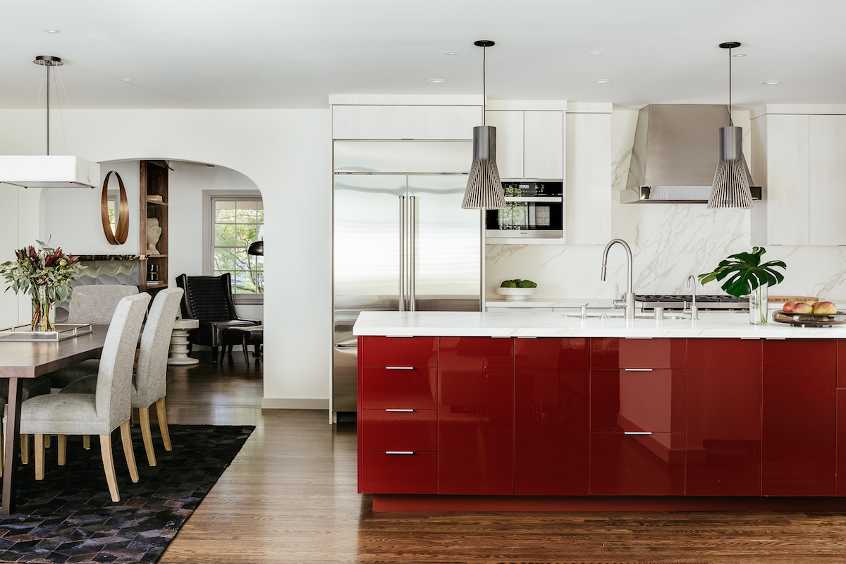 Melinda Mandell Interior Design Palo Alto Kitchen, Photography by Christopher Stark