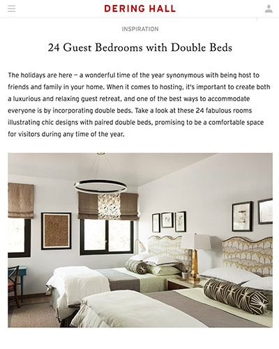 Dehring Hall | 24 Guest Bedrooms with Double Beds