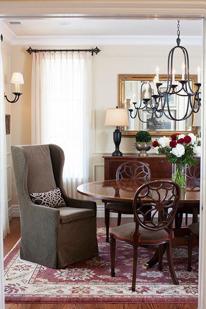 © Melinda Mandell Interior Design: Palo Alto Interior Design